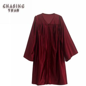 Elementary School Maroon Graduation Gown for Child
