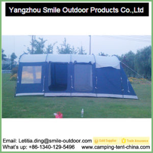 Big Luxury Outdoor Waterproof 4 Room Cabin Camping Tent pictures & photos