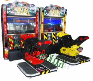 china 42lcd luxury attack motorcyle game center arcade machine