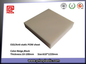 Natural Color ESD Delrin Sheet for Electronic Parts pictures & photos