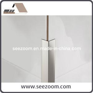 China LShape Metal Aluminium Aluminum Ceramic Corner Protection - Ceramic tile trim shapes