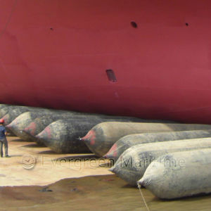 Evergreen High Buoyancy Marine Boat Rubber Ship Launching Airbag Salvage Tube Salvage Airbag for Sale pictures & photos