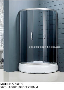 1000*1000mm Semi-Circular Shower Enclosure (S-9819) pictures & photos