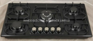 Black Panel Gas Stove