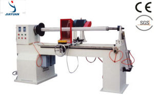 PLC Controlled Automatic Adhesive Tape Roll Cutter, Roll Cutting Machine (JY-B300) pictures & photos