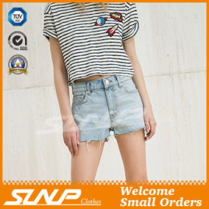 Hot Young Lady Denim Shorts Pant