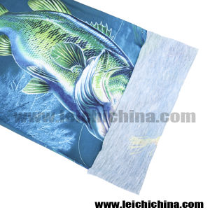 2016 New Design 3 D Bass Fishing Scarf pictures & photos