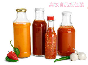 Storage Bottle for Chilli Bottle, Glass Bottle, Glass Ware pictures & photos
