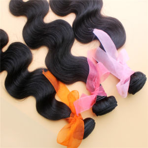 Body Wave Unprocessed Brazilian Virgin Human Hair Weft pictures & photos