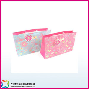 Custom Luxury Shopping and Gift Paper Bag with Logo Printing (XC-5-009) pictures & photos