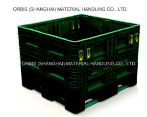 47′′x 45′′ Large Plastic Storage Fordable Bulk Container