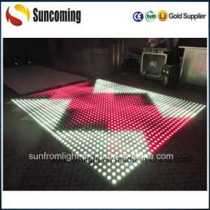 Hot RGB 3in1 Tempered Glass Dance Floor LED pictures & photos