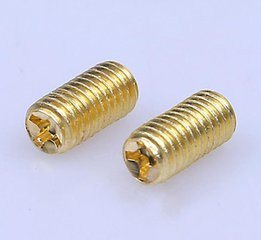 2016 Hot Sale Yellow Zinc Plated Grub Screws pictures & photos
