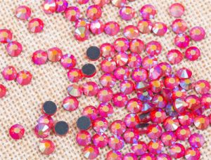 Wholesale Hot Fix DMC Rhinestone Ab Color Topaz Rgd-030ab