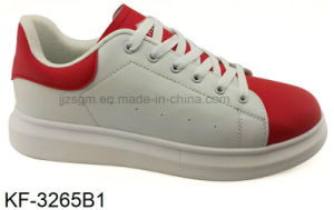 High Platform Casual Shoes for Women with PU Outsole pictures & photos