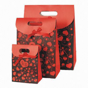 Gift Packaging Cardboard Bags Printing pictures & photos