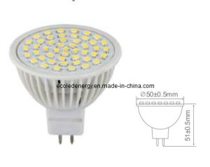 LED Lamp MR16-48SMD with CE and Rhos