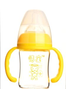 120ml Baby Feeding Bottle Made of High Borocilicate Glass pictures & photos