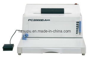Coil Binding Machine (PC2000BA PLUS) pictures & photos
