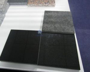 Black Granite Tile in Pineapple Mongolia Black on Sale with Grade a
