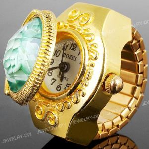 78ef583ebf9 China Unique Flower Swiss Gold Finger Ring Watch (KD-RW11) - China ...