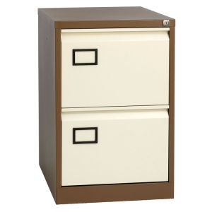 File Storage 2 Drawers Vertical Steel Storage Cabinet pictures & photos