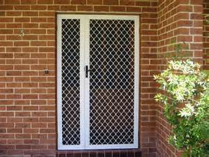 Residential Grade Security Grille Doors