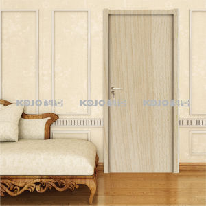 Fire-Resistant New Material Wood Plastic Composite WPC Interior Door (KM-09) pictures & photos