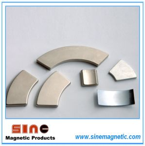 Nickel Coated NdFeB Segment Magnet for Wind Generators (wind turbines) pictures & photos