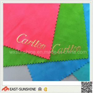 20%Nylon+80%Polyester Glasses Cleaning Cloth (DH-MC0224) pictures & photos