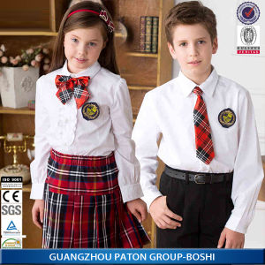 Middle School Uniform for Boys and Girls pictures & photos