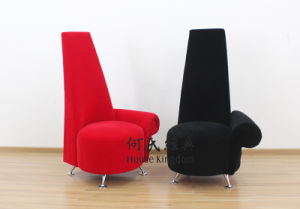 Potenza Contemporary High Back Red Chair
