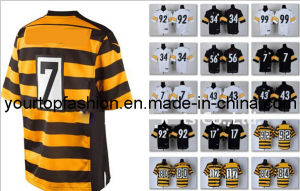 detailed look 45aee 5fd86 China Top Pittsburgh Jerseys American Football Jerseys ...