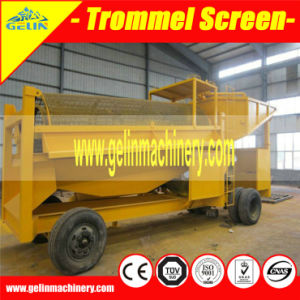 Ghana Mobile Wheels Gold Trommel Screen for Sale pictures & photos