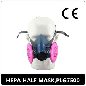 New CE Chemical Protective Double Filter Respirator Half Gas Mask pictures & photos