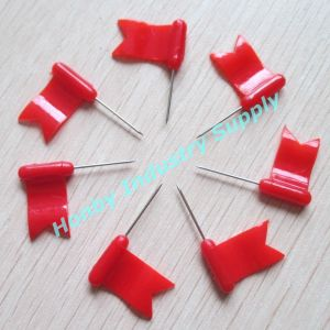 Wholesale 30mm Waving Flag Shape Office Map Pin