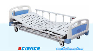 Three Functions Low Electric Hospital Bed with ISO Certificate pictures & photos