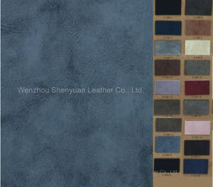 PU Synthetic Leather for Shoe (C-136)