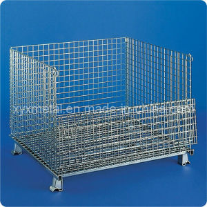 Heavy Duty Folding Storage Cage Pallets pictures & photos