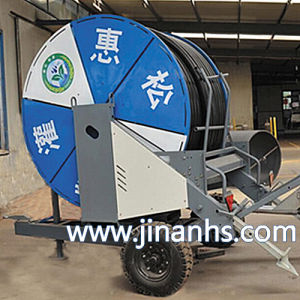 Hot Sale Agricultural Hose Reel Irrigation with Rain Gun pictures & photos