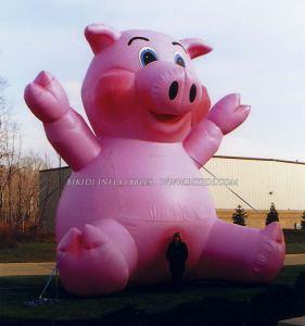 Inflatable Pig Balloon for Outdoor Promotions/Advertisement (K2032) pictures & photos