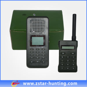 2014 New Waterproof Outdoor Bird Sound Caller with 2*50W 150db Loud Clear Speaker and Single Camo Hunting Bag (ZSCP-394)