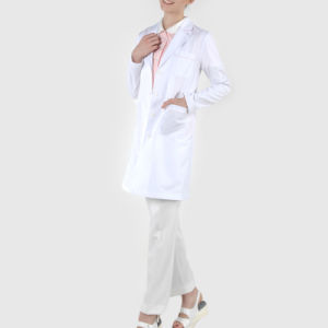 Cotton /Polyester White Lab Coat pictures & photos