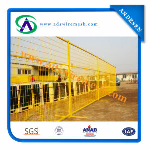 PVC Coated Temporary Fencing Panel pictures & photos