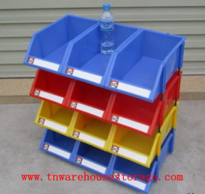 Hot Selling Stackable Plastic Storage Bins/Parts Bin Box & China Hot Selling Stackable Plastic Storage Bins/Parts Bin Box ...