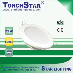 Good Quality SMD 12W Round LED Panel Light