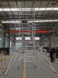 Alu Scaffold Aluminum Mobile Tower Scaffolding