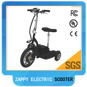 Passenger 3 Wheel Electric Scooter Zappy Disabled Scooter 3 Wheel pictures & photos