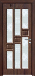 Glass Interior PVC Door (PVC door) pictures & photos