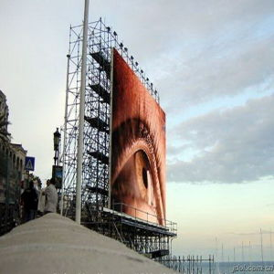 P6mm Full Color Outdoor Rental Die-Casting LED Display Screen
